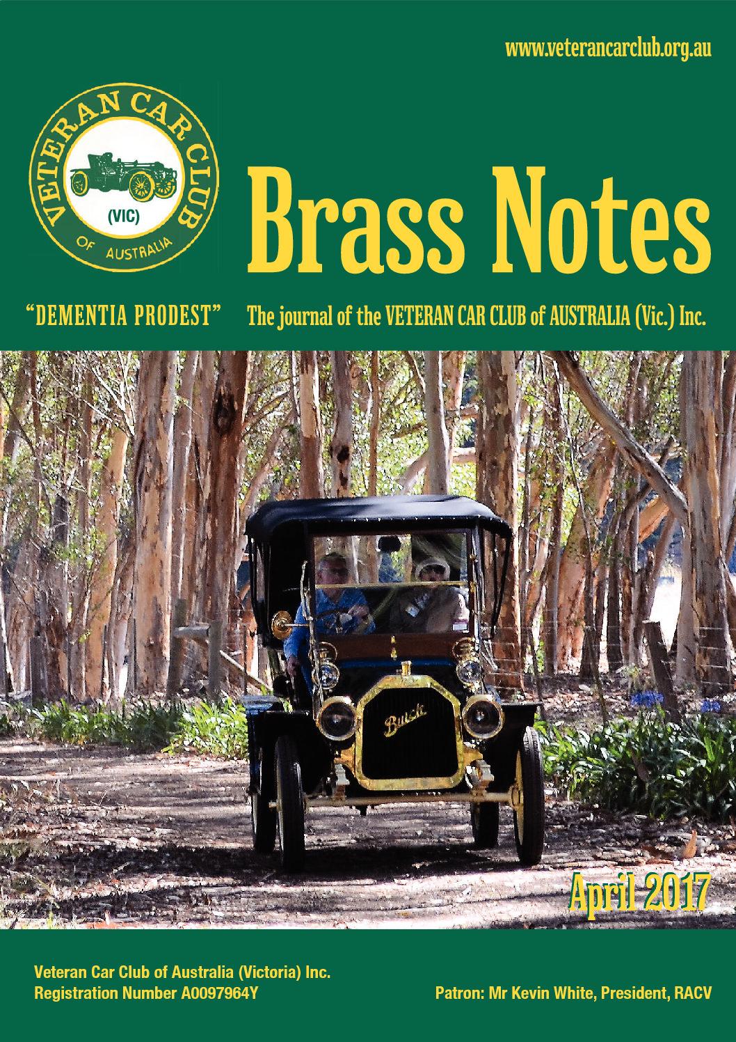 Brass Notes April 2017
