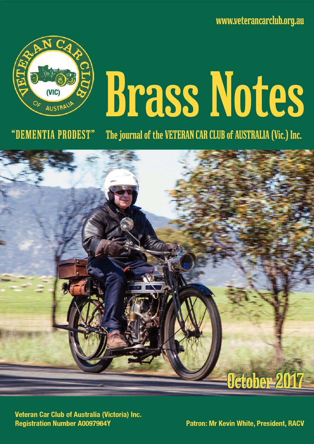 Brass Notes October 2017