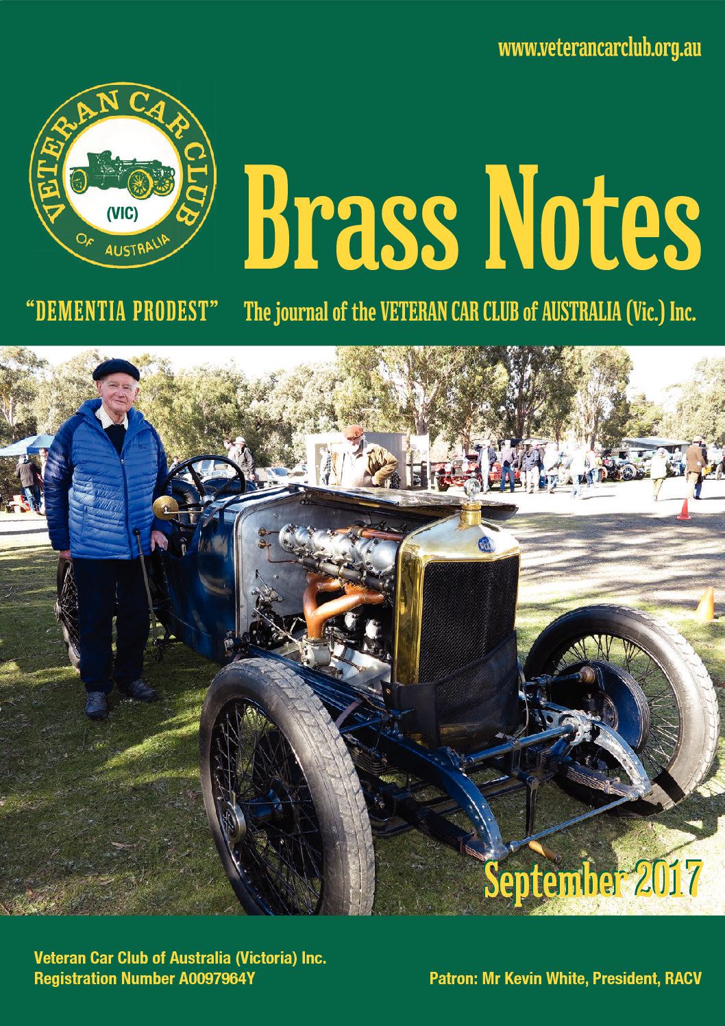 Brass Notes September 2017