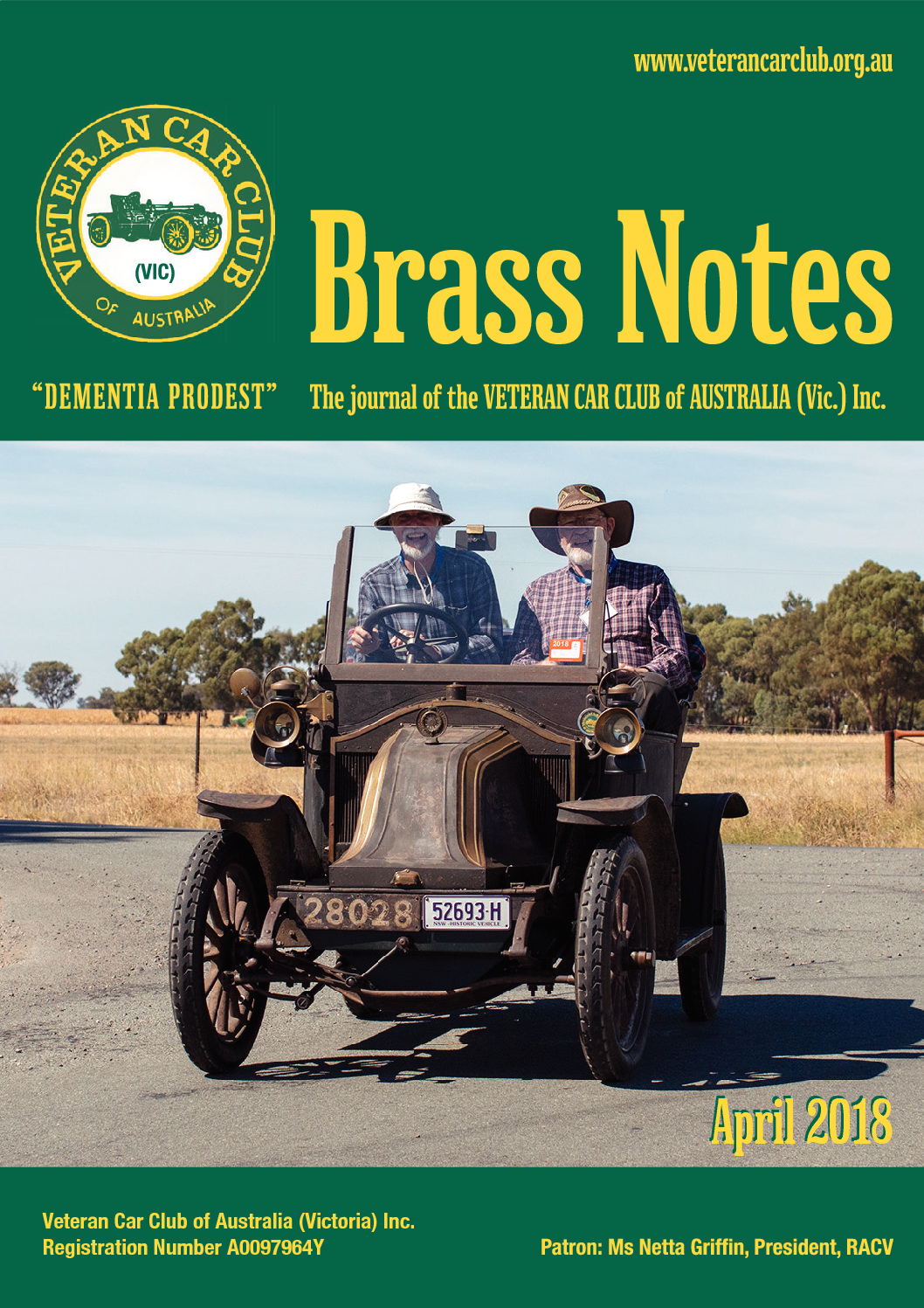 Brass Notes April 2018