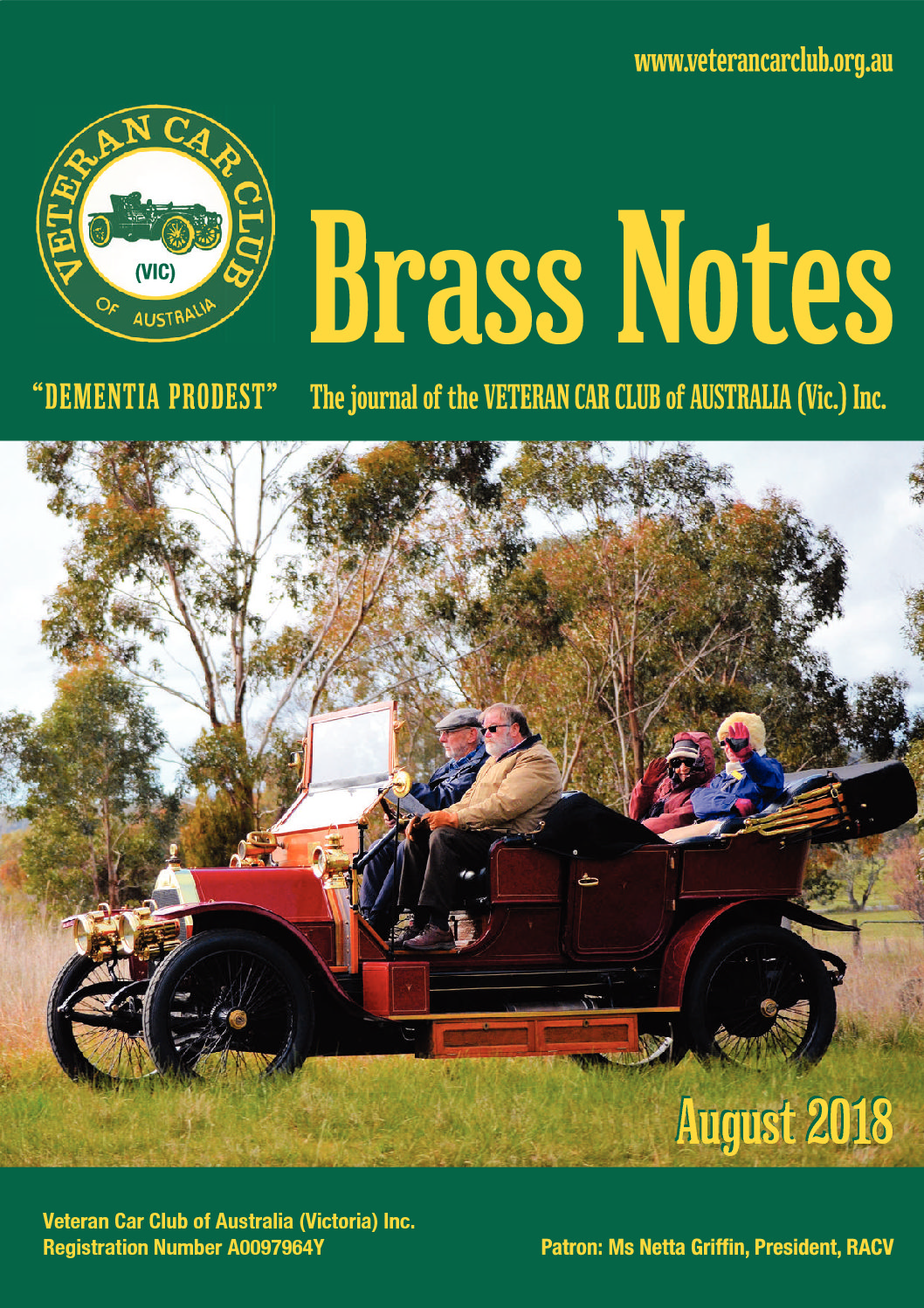 Brass Notes August 2018
