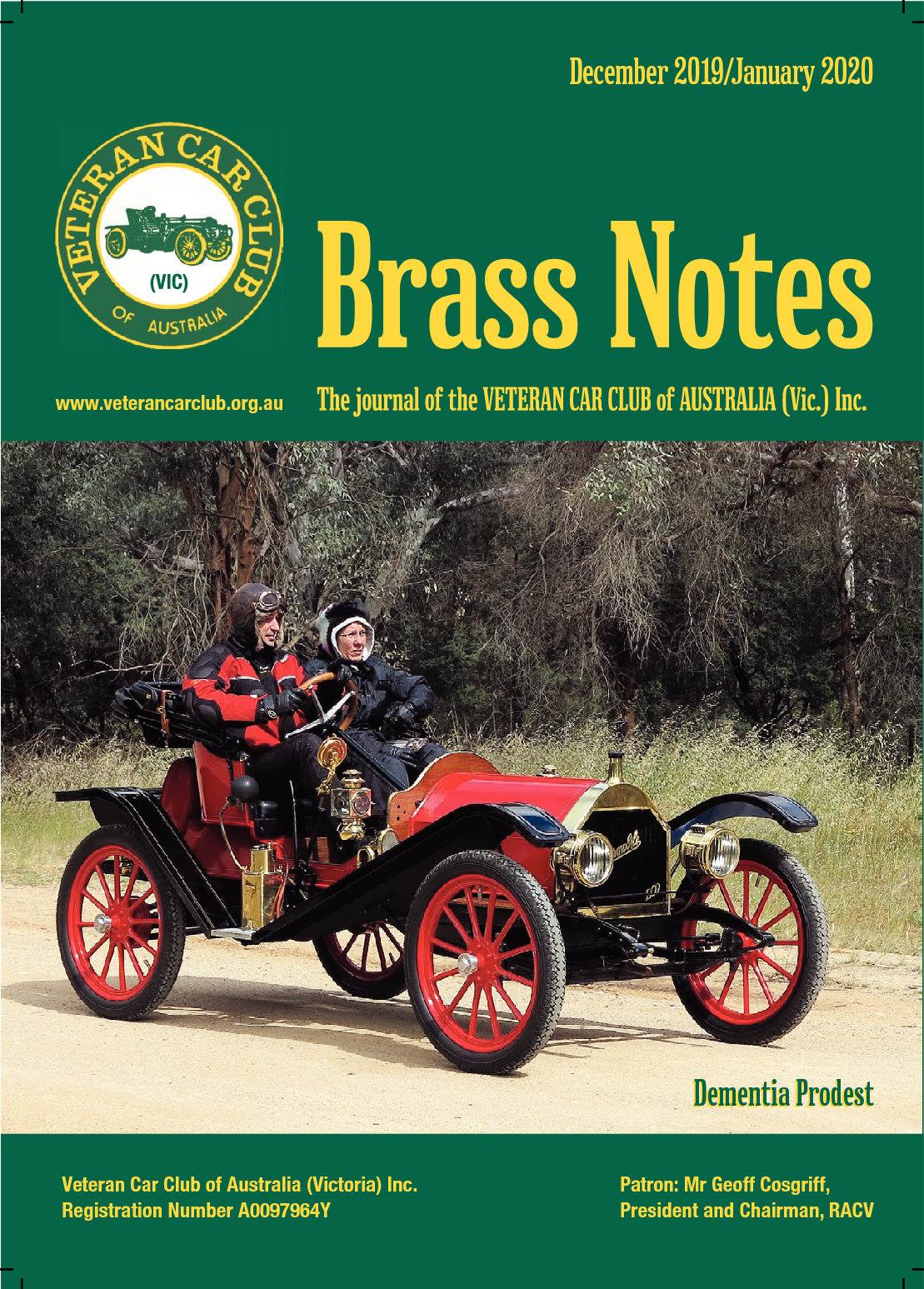Brass Notes December 2019/January 2020
