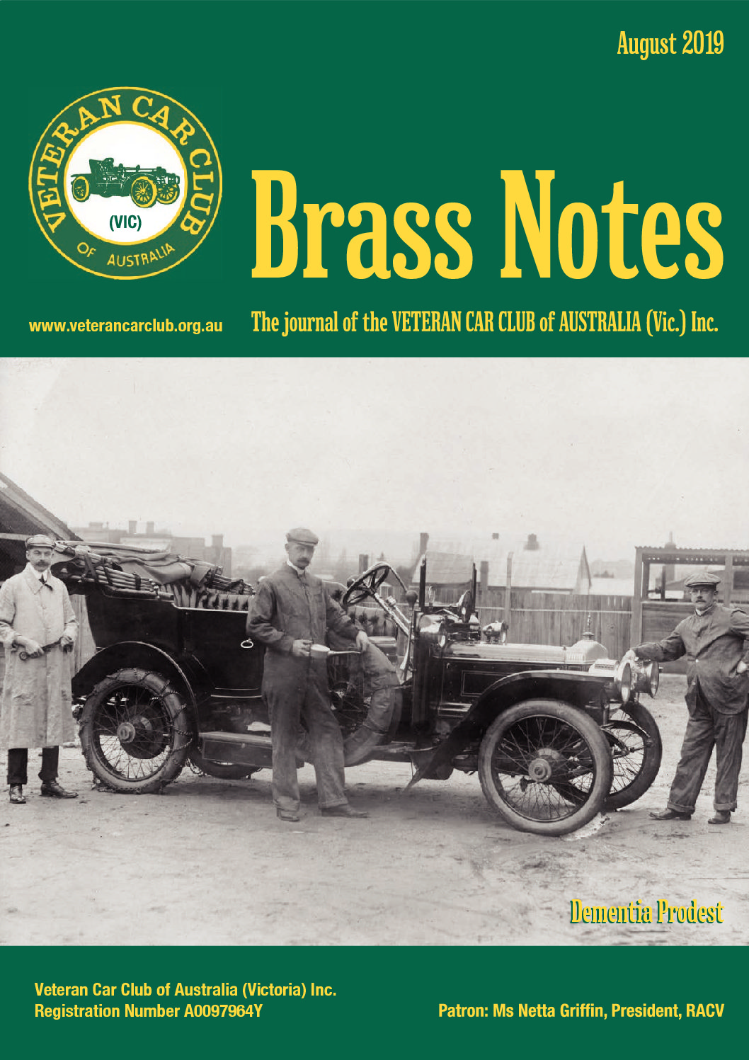 Brass Notes August 2019