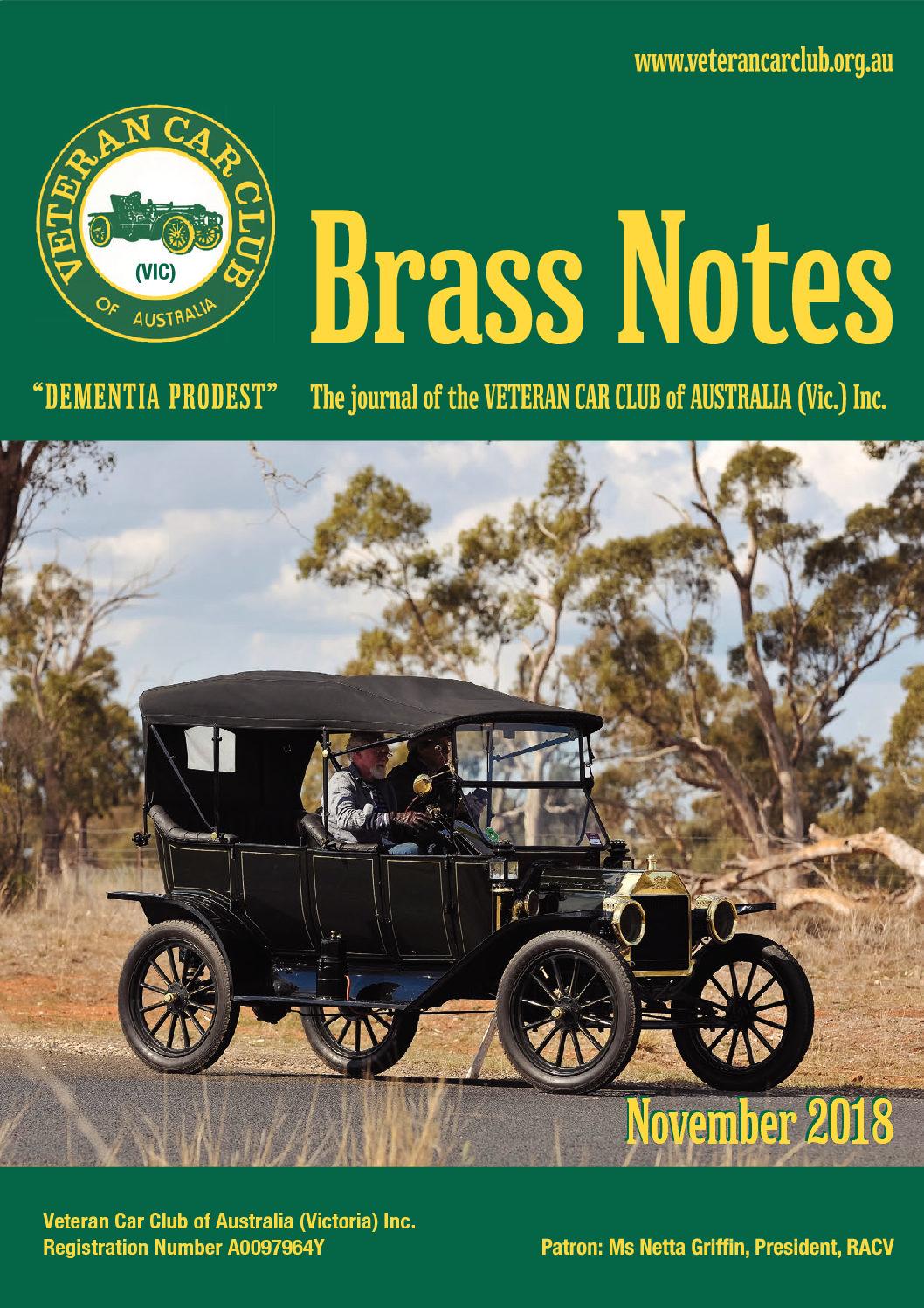 Brass Notes November 2018