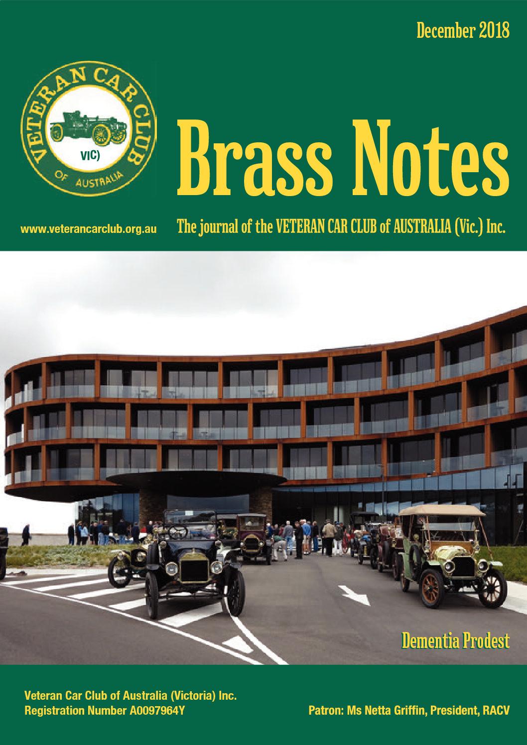 Brass Notes December 2018