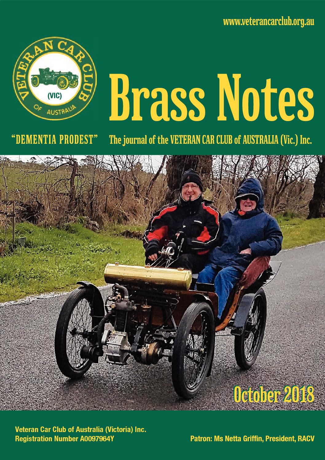 Brass Notes October 2018