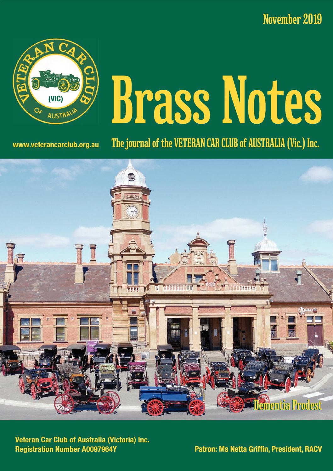 Brass Notes November 2019