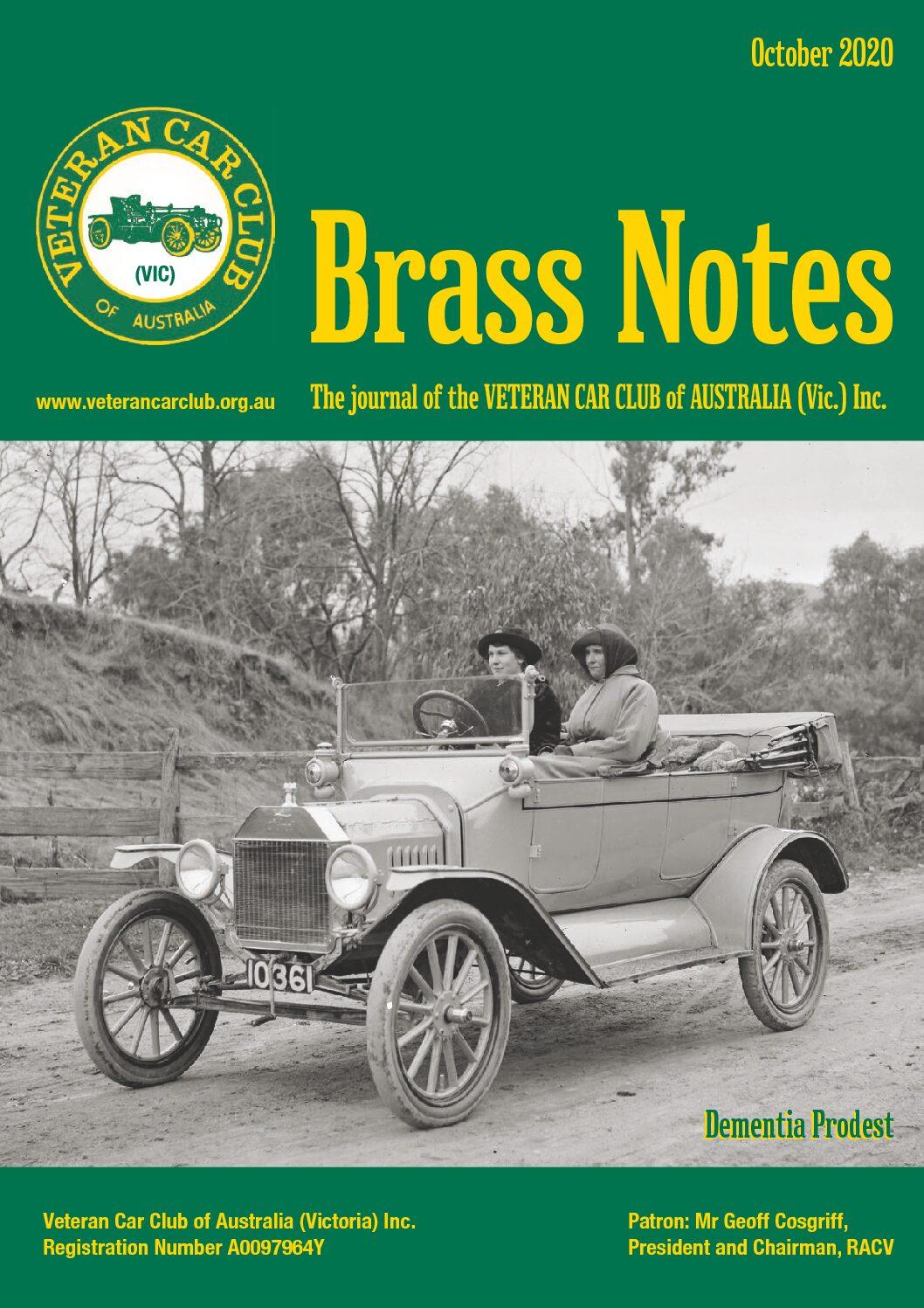 Brass Notes October 2020