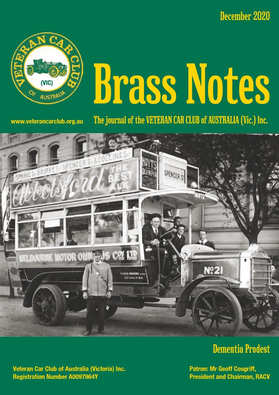 Brass Notes December 2020